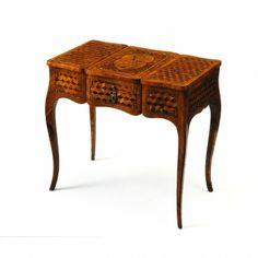dressing table 1765 tulipwood jacques birckle