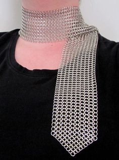 chainmaille scarf