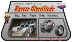 Thank You all for promoting Racers Classifieds  http://racersclassifieds.proboards.com