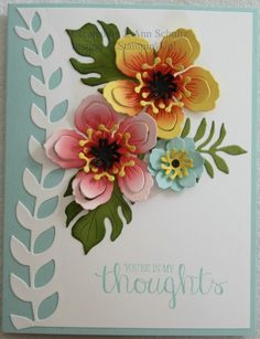 Hibiscus Thoughts by jreks - Cards and Paper Crafts at Splitcoaststampers