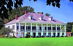 St. Joseph Plantation by New Orleans Plantation Country, via Flickr