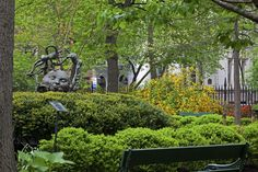 ALBERT CAPSUTO PARK (formerly CaVaLa Park) is a triangular shaped pocket park in the Tribeca neighborhood of Lower Manhattan, New York. It is bounded by Canal Street to the northeast, Varick Street to the west and Laight Street to the south