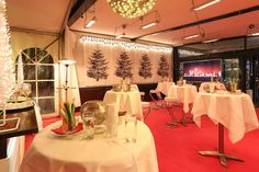 Zeltüberdachung für große Events Events, Table Decorations, Winter, Furniture, Home Decor, Tent Camping, Weihnachten, Happenings, Homemade Home Decor