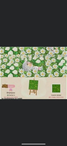 Image may contain: flower Animal Crossing, Custom Design, Shampoo, Flowers, Animals, Image, Animaux, Animal, Animales