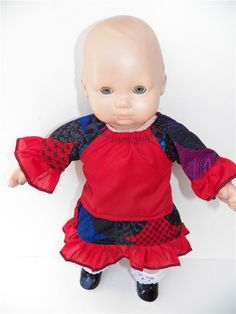 American Girl Bitty Baby 15 Doll Clothes by adorabledolldesigns, $9.00