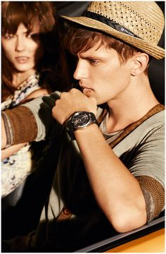 Hugo Boss Orange's Spring 2013 Eyewear & Watches Campaign.