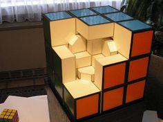 Cardboard Rubik's cube