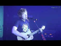 Ed Sheeran performing an exclusive cover of Snow Patrol's Chasing Cars just for Free Radio's Secret Gig.