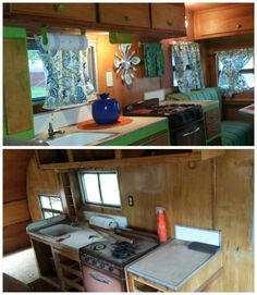 our 1950's kenskill before and after!!!