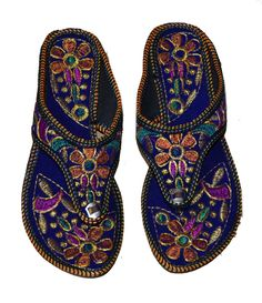 392ea1031bba US SIZE 9 WOMENS EMBROIDERY DESIGNER PUNJABI FLIP-FLOP SLIPPERS PARTY JUTTI   fashion  clothing  shoes  accessories  womensshoes  sandals (ebay link)