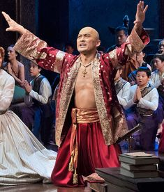 the king and i on broadway 2015 | Ken Watanabe in 'The King and I' (Photo: Paul Kolnik)