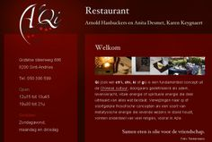 Gift certificate for restaurant A'Qi