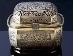 Chinese Brass Hand Warmer. ca.1880