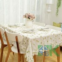 Free shipping 2016 New Chinese Embroidered Embroidery Pattern Table Cloth Rectangular Table Cover dustproof for Banquet Decor