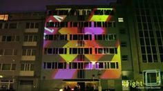 Projection Mapping Club Travolta | bright! creative event solutions
