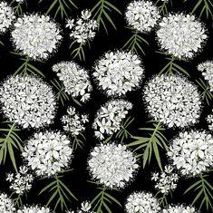 Suopursu, Marsh wild rosemary print in fabrics and soon wallpaper, by HELLIN Scandinavian, Print Design, Dandelion, Fabrics, Colours, Wallpaper, Flowers, Plants, Painting