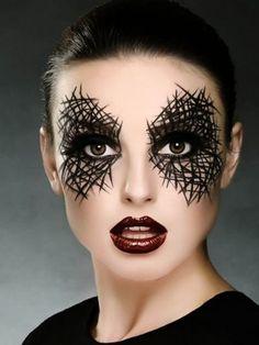 Halloween Makeup Looks Halloween-Make-upblicke . Yeux Halloween, Cool Halloween Makeup, Halloween Makeup Looks, Diy Halloween, Halloween Costumes, Halloween Tipps, Facepaint Halloween, Halloween Witches, Diy Costumes