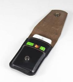 Leather iPhone 5/5S Wallet