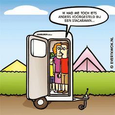507 Caravan - Evert Kwok Cartoons - droge humor, woordgrappen & bananen