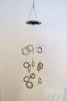 Bicycle Chain Bracelet Bicycle Accessories by Winterwomandesigns