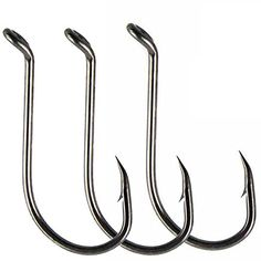 Luengo 100pc 8299 1/0-9/0 Octopus Fishing Hook High-carbon Steel Black fishhook Saltwater Bass  http://fishingrodsreelsandgear.com/product/luengo-100pc-8299-10-90-octopus-fishing-hook-high-carbon-steel-black-fishhook-saltwater-bass/  1. Quantity: 100pcs sharp 8299 octopus circle hooks for each size 2. Off-set Point and Needle point, Up Eye Forged Shank Offset Point 3. Made of Black high carbon steel, firm and super sharp,antirust for years