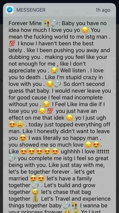 This stage of a relationship is the best. But it's even better when this doesn't stop☺️ Cute Boyfriend Texts, Message For Boyfriend, Boyfriend Quotes, Paragraphs For Your Boyfriend, Cute Paragraphs For Him, Goodmorning Texts To Boyfriend, Cute Things To Say To Your Boyfriend, Boyfriend Boyfriend, Relationship Paragraphs
