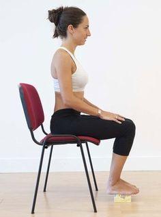 Fitness & Yoga: 5 Yoga Postures to Reduce Abs Yoga Fitness, Yoga Gym, Posture Fix, Chair Yoga, Respiration, Good Health Tips, Workout Challenge, Workout Programs, Fun Workouts