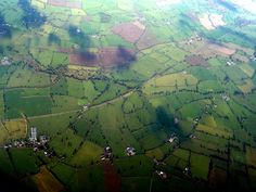 May Margrit B, mb - English Landscape - Aerial View