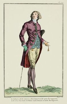 Charles Rivenhall wears striped hose to cousin Sophy's ball, to the delight and admiration of his sisters. My Fanciful Muse: Late 18th Century French Fashions - Stockings