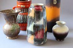#Boho #Boheme #vase #ceramic #vintage #WestGermany #wohnraumformer