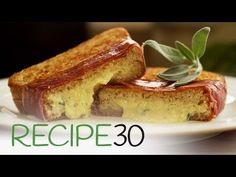 Prosciutto And Cheese Melts – Easy Meals with Video Recipes by Chef Joel Mielle – RECIPE30