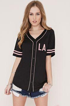 All Day Baseball Jersey | Forever 21 - 2000169217