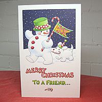 Snowman Parade ~ Christmas Card
