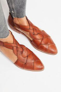Noir cuir chaussures décontractées confort flats patte pour boîte euro taille 39 #108