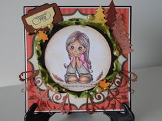 TinyWorks: Card Thinking of You  Buon inizio Ottobreeee!!!!!!!!!!!!  http://tinyworks81.blogspot.it/…/…/card-thinking-of-you.html