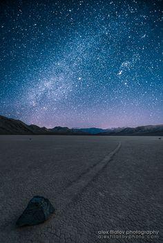 Night Race by Alex Filatov on 500px Death Valley National Park
