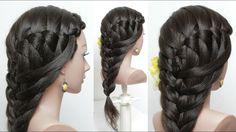 Easy Everyday Braided Hairstyle Hair Tutorial