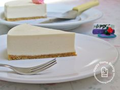 Happy Home Baking: Silken Tofu Cheesecake (no-bake) ... I could replace the cream cheese with the vegan version! Dairy free cheesecake :D