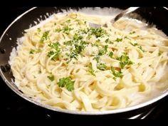 """Receta de la famosa """"salsa Alfredo"""", una de las más sabrosas salsas para la pasta"""