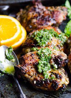 grilled chicken chimichurri
