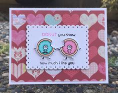 Sweet Friends and Sweet Smiles stamp set from Lawn Fawn. Card by Mocha Frap Scrapper.