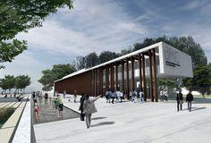 Primer Lugar Concurso para el Nuevo Edificio Biblioteca Municipal de Campana,Cortesía de Pablo Carballo