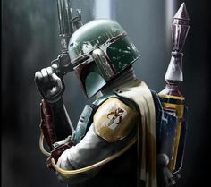 Bobo Fett- intergalatic bounty hunter!