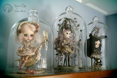 The dolls in my home by Rebeca Cano ~ Cookie dolls, www.cookie-dolls.com