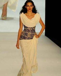 Such a unique design 😍 African Inspired Fashion, African Print Fashion, Africa Fashion, Ethnic Fashion, Fashion Prints, African Prints, Ankara Fashion, African Wear, African Attire