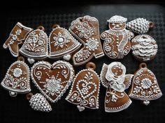 Fancy Cookies, Vintage Cookies, Cupcake Cookies, Christmas Gingerbread, Gingerbread Cookies, Christmas Cookies, Ginger Cookies, Sugar Cookies Recipe, Holiday Baking