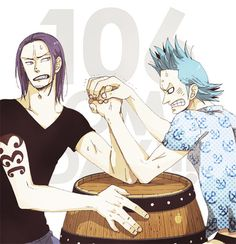 Iceberg and Franky #one piece