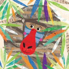 Peeking Jungle Buddies - Baboon Canvas Art