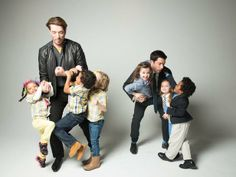 6 Kids, 2 Brothers - Go Behind the Scenes on the Set of Toddler Vs. Toddler  on HGTV
