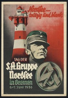 : Picture postcards and topics Third Reich Propaganda Luftwaffe, Japanese Stamp, Ww2 Posters, Nazi Propaganda, Picture Postcards, World War Two, Vintage Advertisements, Wwii, History